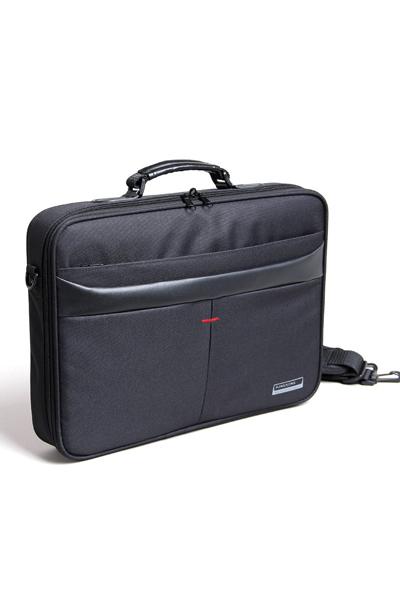 """KB 15.6"""" black shoulder bag"""