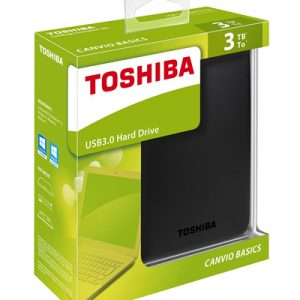 Toshiba External :: CANVIO BASICS2 3TB