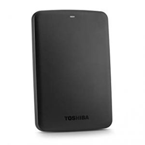 Toshiba External 500GB Basics2 Canvio HDD - Black Color