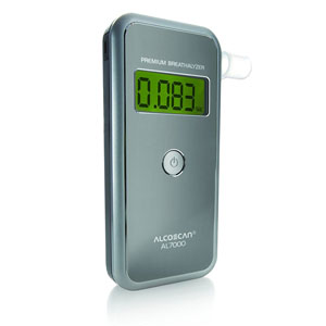 AlcoScan AL7000 Pro Pack Breathalyzer