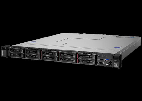 Entry Level ThinkSystems 1U Rack Server