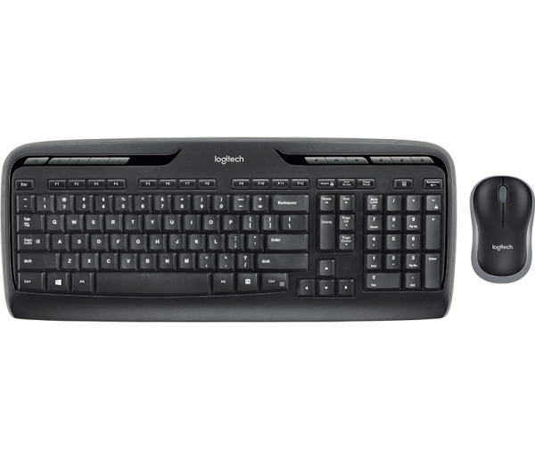 COMBO - LOGITECH Wireless Keyboard & Mouse Combo MK330